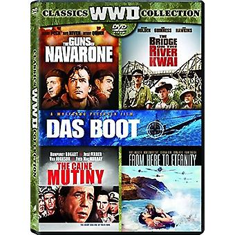 Broen over Kwai / Caine mytteriet / Das Boot [DVD] USA import