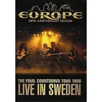 Europe - Final Countdown Tour: Live in USA import de Suède 1986 [DVD]