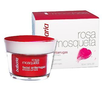 Babaria Rosa Mešeta Antiarrugas Crema Obličejová 50 ml pro ženy