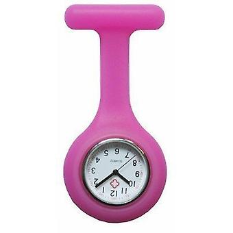 Новый моды силиконовые медсестры брошь туника ФОБ часы на Boolavard TM. (7 - розовый)
