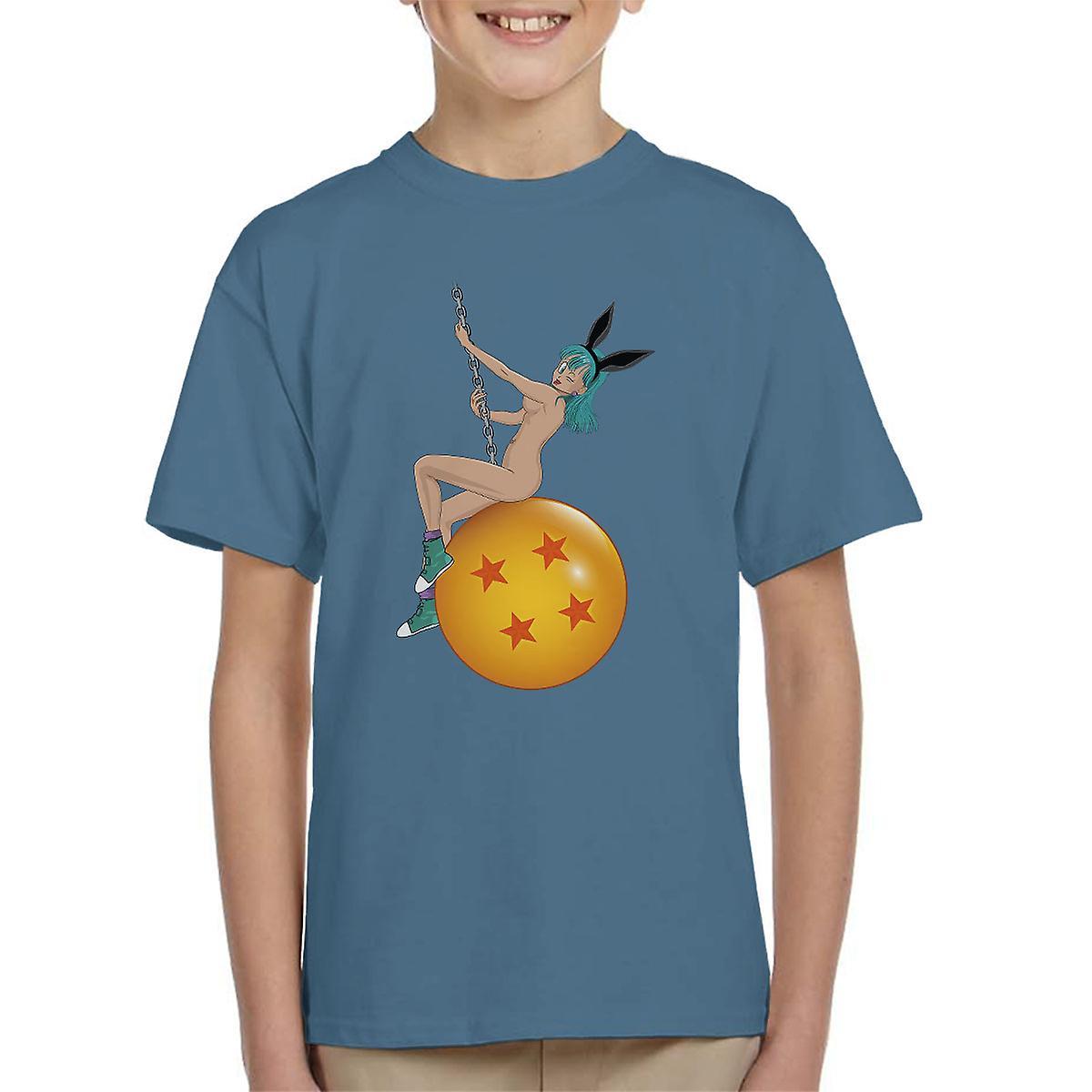 Bunny Ball Bulma Dragon Ball Z Nude Mens T-Shirt | Fruugo US