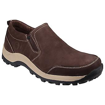 Cotswold Mens Sheepscombe Slip On Twin Gusset Shoes