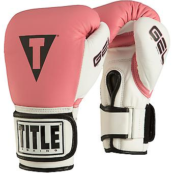 Title Boxing Gel World Bag Gloves - Pink