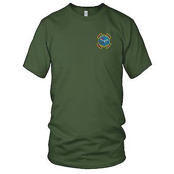 U.S. 238th AER WPNSCO Gunrunners I en II Corps - Laos - Vietnamoorlog Pilot geborduurd Patch - Mens T Shirt
