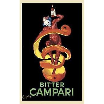 Impresión de Poster cartel de Campari amargo de Leonetto Cappiello