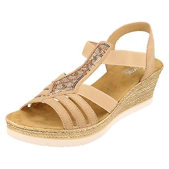 Ladies Rieker Sandals 61913
