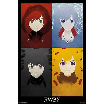 RWBY - Quad Poster Print