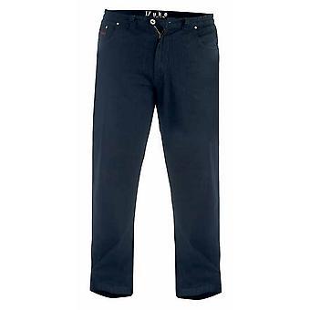 Duque Londres Mens Kingsize Balfour Comfort Fit Jeans Stretch