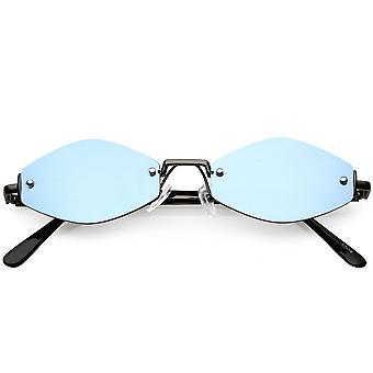 Ретро Маленькие Толстые Смелые Рамки Женские Кошачьи Глаза Солнцезащитные Очки 52мм