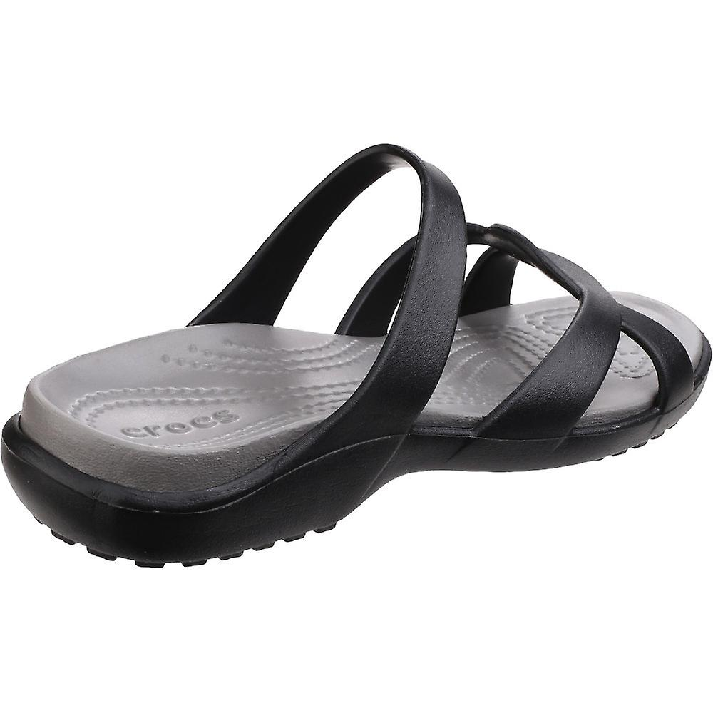 Crocs Womens/dames Meleen Twist lichtgewicht Croslite schuim sandalen - Gratis verzending Meb1k7