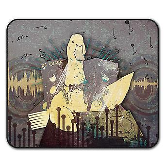 Funny Goose Beat DJ  Non-Slip Mouse Mat Pad 24cm x 20cm | Wellcoda