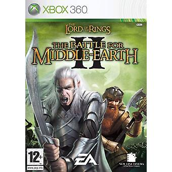Lord of the Rings The Battle for Middle Earth II (Xbox 360) - As New
