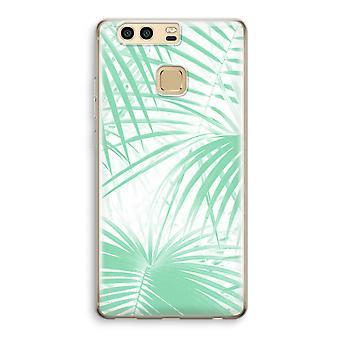 Huawei P9 boîtier Transparent (doux) - feuilles de palmier