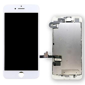 All-in-one-displayet LCD komplet enhed touch panel til Apple iPhone 7 plus 5,5 tommer hvid pre samlet