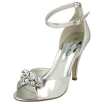 Dames Anne Michelle hakken Jewelled sandaal L3418