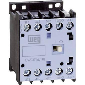 WEG CWC012-10-30C03 contactor 3 beslutsfattare 5,5 kW 24 V DC 12 A + extra kontakt 1 st. (s)