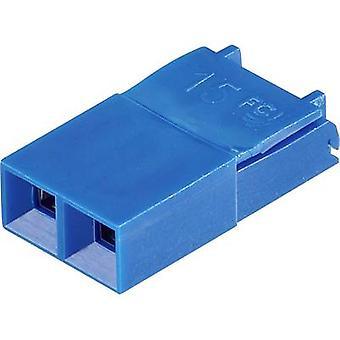 FCI Dubox / PV / Bergstik Shorting jumper Contact spacing: 2.54 mm Pins per row:2 Content: 1 pc(s)