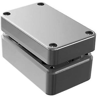Deltron skap 488-130806A-66 Universal kabinett 130 x 80 x 60 Aluminium grå 1 eller flere PCer