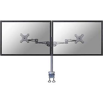 NewStar FPMA-D935D 2x skærm bord montering 25, 4 cm (10)-68, 6 cm (27) højde justerbar, vipbar, drejelig, drejelig