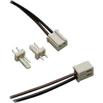 BKL elektroniske 072510-O/2 PCB stik sat nominelle strøm (detaljer): 3 A