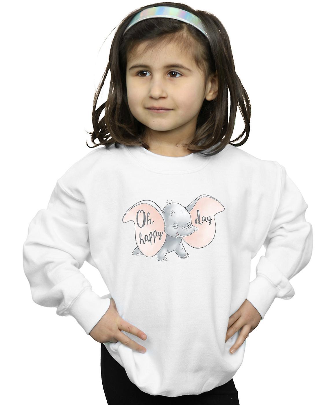 Disney Girls Dumbo Happy Day Hoodie