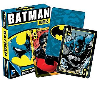 Batman Heroes Set Of 52 Playing Cards (+ Jokers)