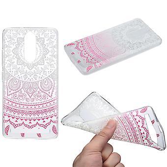 Copertura del hennè per silicone di Lenovo vibe K5 custodia protettiva cover bianco sole