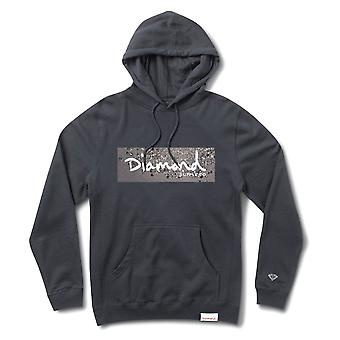 Diamond Supply Co. Scatter Box Logo Hoodie Navy