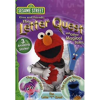 Sesame Street - Elmo & Friends: The Letter Quest & Other Magical T [DVD] USA import