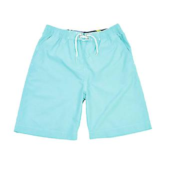 Boys Tom Franks Contrasting Waistband Summer Beach Swim Shorts With Mesh Liner