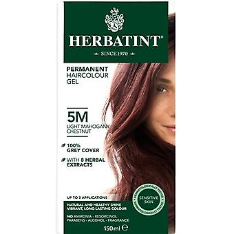 Herbatint, Light Mahogany Chest Hair Colo 5M, 150ml