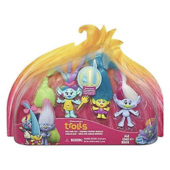 DreamWorks Trolls sauvages cheveux Pack