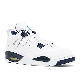 Air Jordan 4 Retro Ls - 'Legend Blue' -314254-107 - Shoes