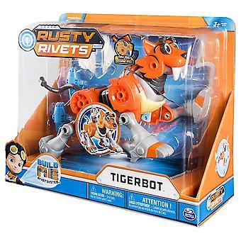 Set di Rusty rivetti Tigerbot edificio con luci e suoni