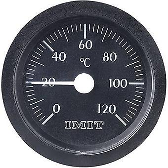 IMIT Capillary Mount Thermometer Large 0 - 120 °C