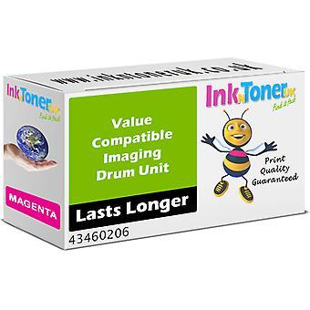 Kompatibel OKI 43460206 magenta tromle 43460206-patron til oki C3450