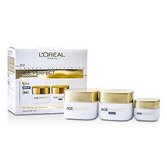 L'Oreal leeftijd perfecte programma: Dag room + Eye Cream + nachtcrème - 3st