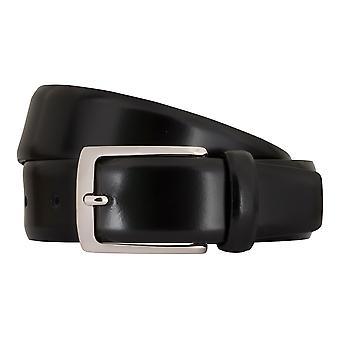 MIGUEL BELLIDO clasico belts men's belts leather belt black 7719