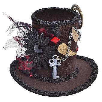 Steampunk Tall Top Hat (Mini)