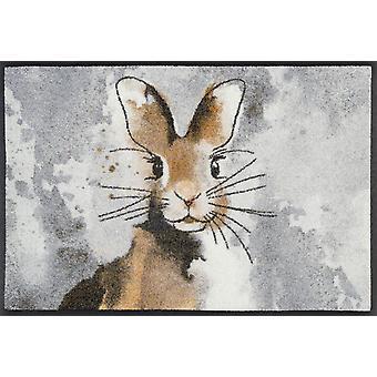 lavar + secar alfombra de Hopps mat 50 x 75 cm conejo suciedad lavable