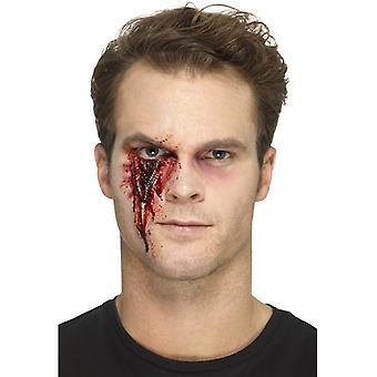 Cicatrice de laTeX zip prothétique
