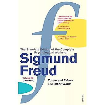 Psykologiska verk av Sigmund Freud: Totem och tabu och andra fungerar Vol 13