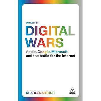 Digitale Wars: Apple, Google, Microsoft en de strijd voor het Internet
