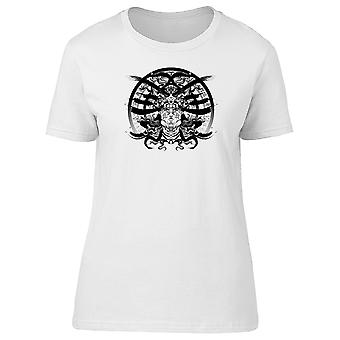 Long Hair Valkyrie With Helmet Tee Men's -Image by Shutterstock