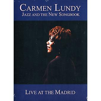 Carmen Lundy - Jazz & nya sångbok-Live på Madrid [DVD] USA import