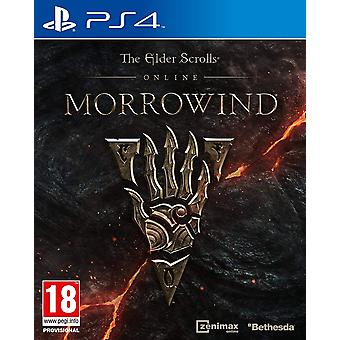 Gra The Elder Scrolls Online Morrowind PS4 (angielski/arabski Box)