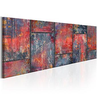 Quadro - Metal Mosaic: Red