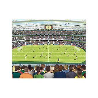 Walltastic Football Crazy Wall Mural 2.44m x 3.05m