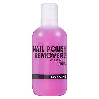 Salon System Profile Luxury Professional Nail Polish Remover Acetone Free - Remover 2 125ml (0219102)