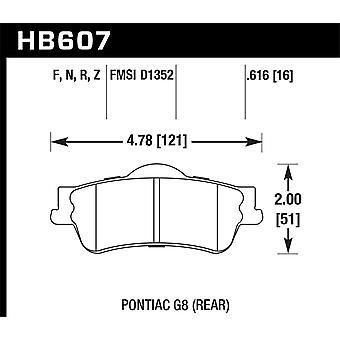 Hawk performance HB607Z. 616 PC